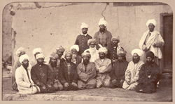 Sirdar Habeeboolah Gilzai and other Khans [Kabul].